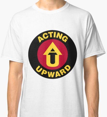 Acting Upward Logo Round Classic T-Shirt