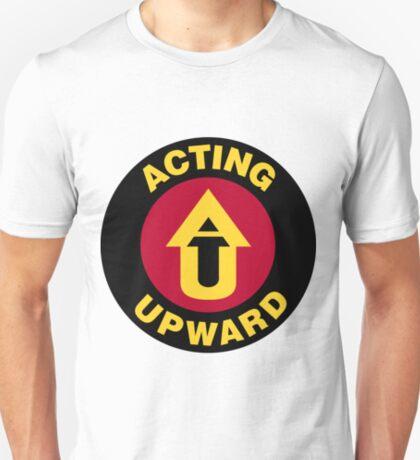 Acting Upward Logo Round T-Shirt