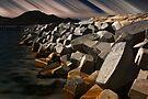 Boulders, Floodbank, St-Martin by Yannik Hay