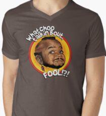 Mr Gary T Coleman - Whatchoo talkin'bout FOOL!?! Men's V-Neck T-Shirt