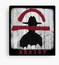 Resist the Kempeitai Canvas Print