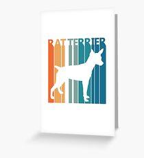 Rat Terrier Greeting Card