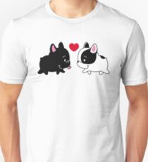 Frenchies in Love Unisex T-Shirt