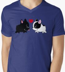 Frenchies in Love T-Shirt
