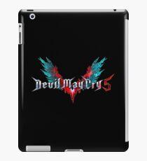Devil May Cry 5 Godtier Logo iPad Case/Skin