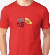 National Moth Week - logo horizontal T-Shirt