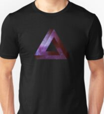 Infinite Penrose Triangle Galaxy T-Shirt