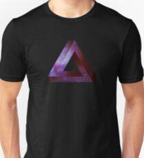 Infinite Penrose Triangle Galaxy Slim Fit T-Shirt