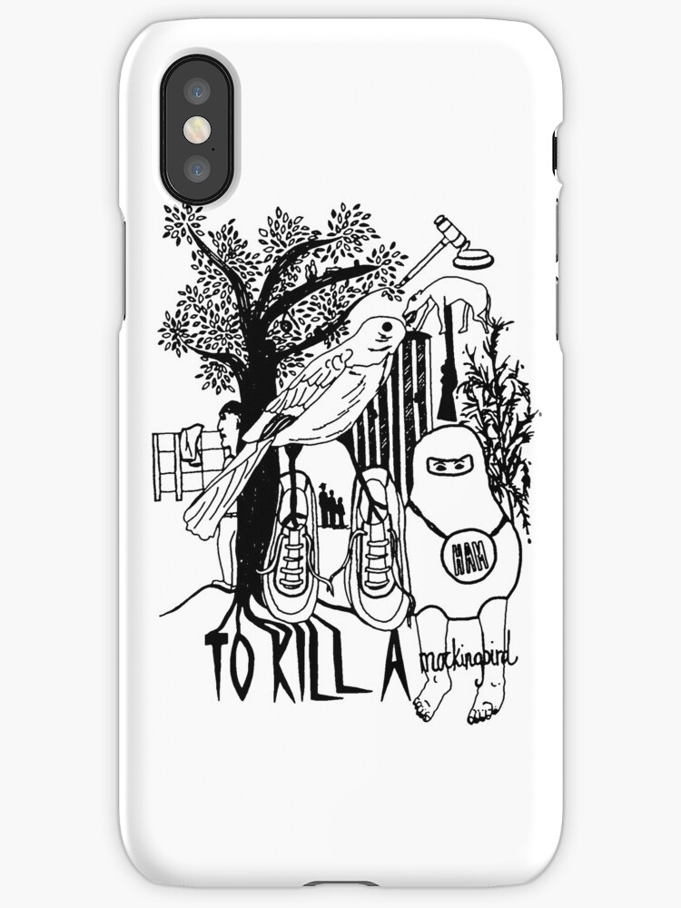 To Kill a Mockingbird (black and white) by Louise Norman