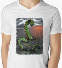 Jörmungandr Men's V-Neck T-Shirt