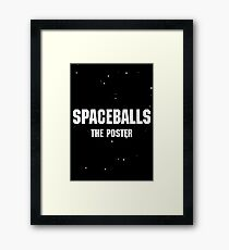Spaceballs The Design Framed Print