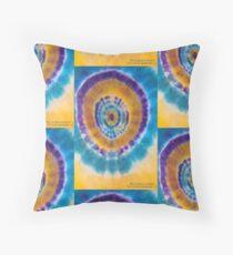 Tri-color Sunburst v1 Floor Pillow