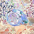 Korallen- und Muschelmosaik von Jan Marvin
