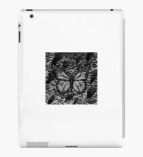 Butterfly with pollution iPad Case/Skin