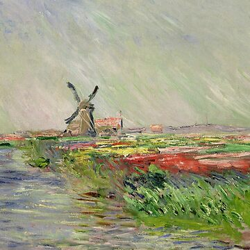 Field of Tulips in Holland by Claude Monet by 4Craig