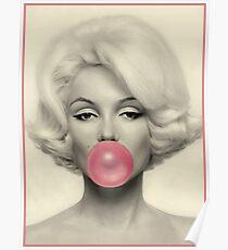 MARILYN MONROE: Blasengeblasener Druck Poster