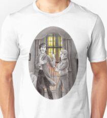"""Life is Infinitely Stranger"""" - Sherlock and John - 221B version #  Unisex T-Shirt"""