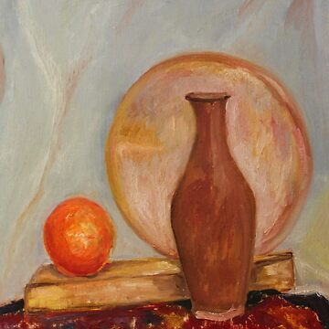 Still life painting by evonealawi