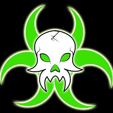 Biohazard Skull by davayala93