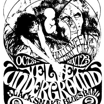 Velvet Underground Halloween  by mkkessel