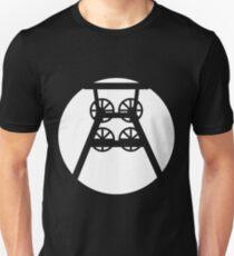 Ruhrpott colliery conveyor tower (w) Slim Fit T-Shirt