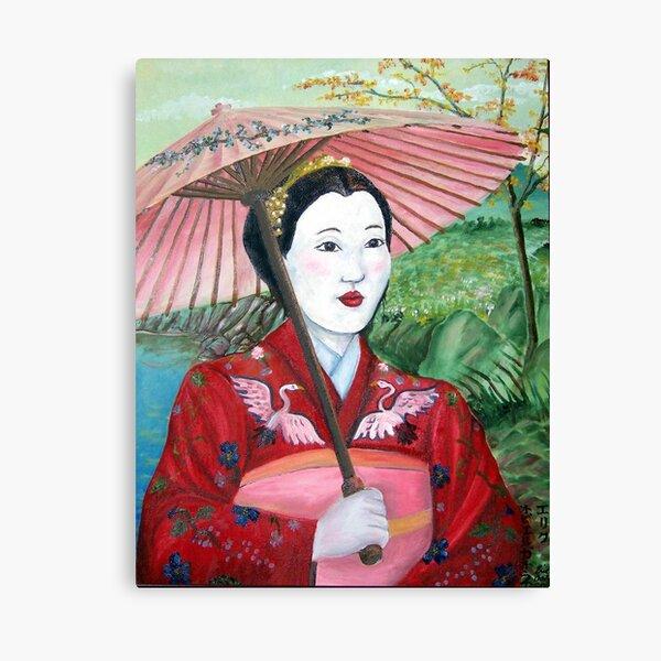 Geisha Doll Canvas Print
