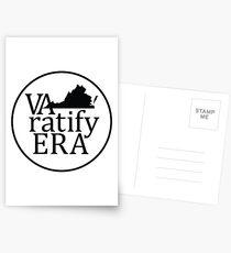 reversed black logo Postcards