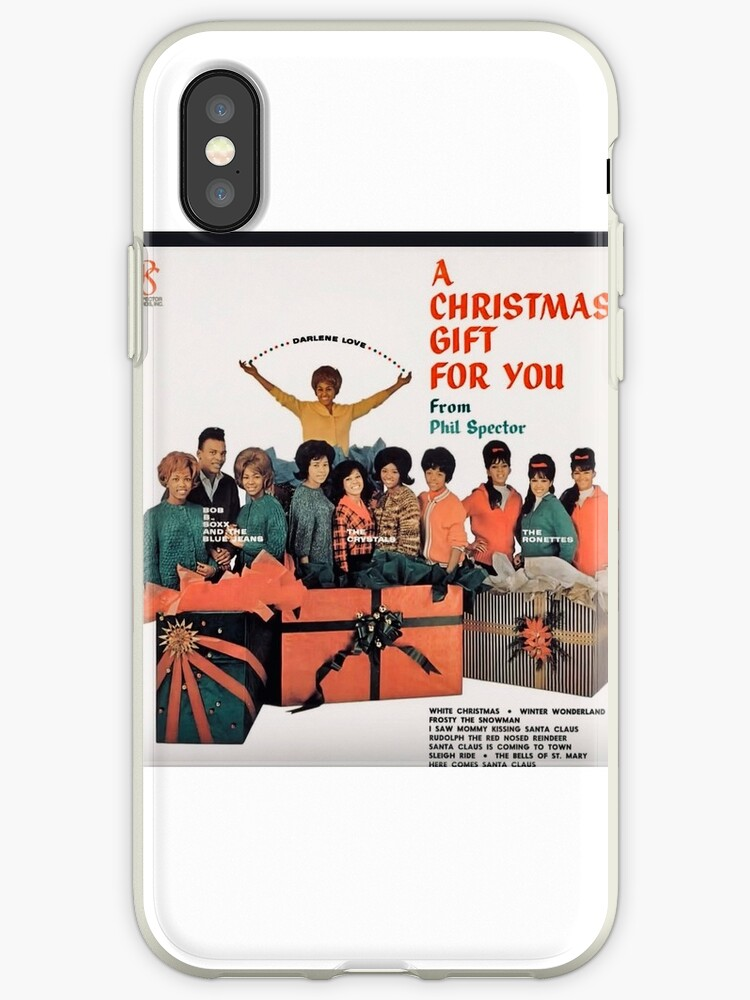 A Christmas Gift For You From Phil Spector.Phil Spector S A Christmas Gift To You Album Cover Iphone Case By Jenniferkate72
