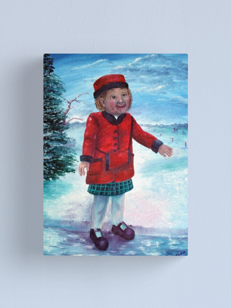 Alternate view of Snow Day Canvas Print