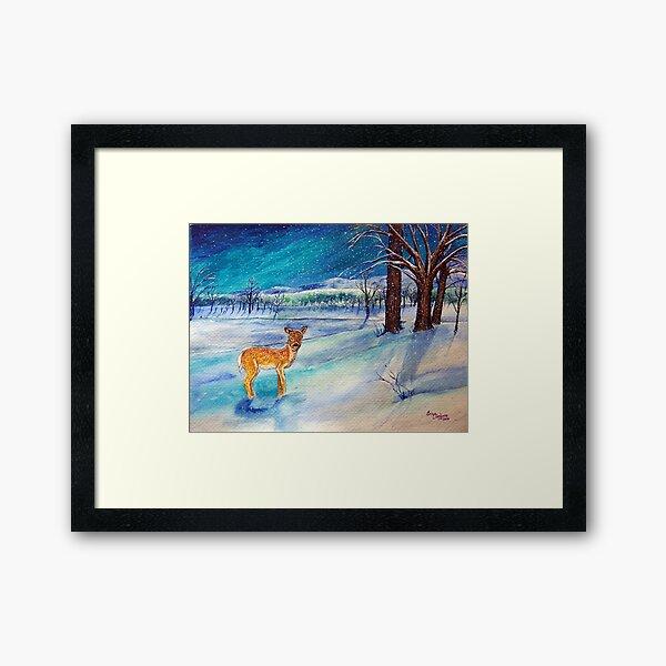 Winter Wonderland 3 of 4 Framed Art Print