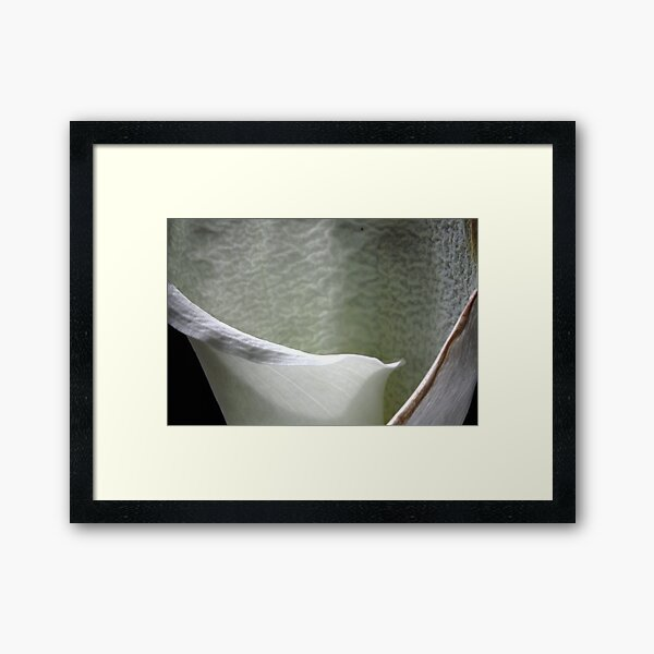 wrinkled beauty: intimacy Framed Art Print