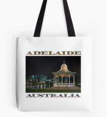 Illuminated Elegance (poster on white) Tote Bag
