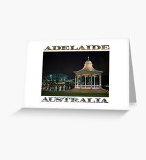 Illuminated Elegance (poster on white) Greeting Card