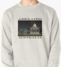 Illuminated Elegance (poster on white) Pullover