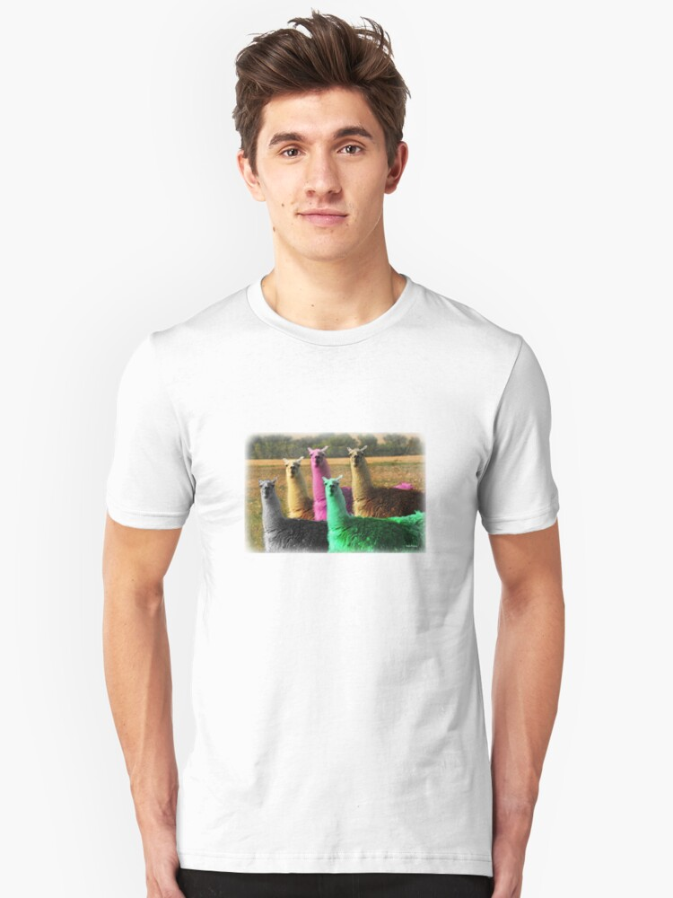Color Coded Tee Shirt Unisex T-Shirt Front