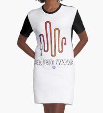 SOUND WAVE  Graphic T-Shirt Dress