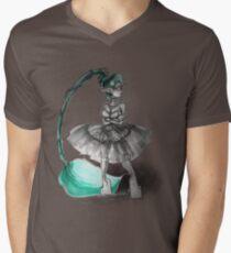 Rainbow Punk: Tirquoise Steam Men's V-Neck T-Shirt