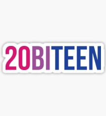 It's time for 20biteen Sticker