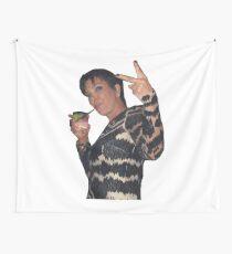 Kris Jenner Friedenszeichen Wandbehang
