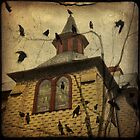 Church With Crows by gothicolors