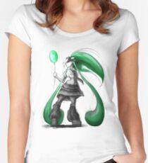 Rainbow Punk: Emerald Funk Women's Fitted Scoop T-Shirt