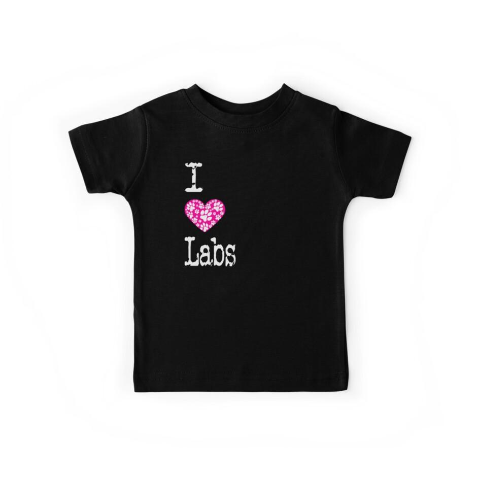 «I Heart Labs   Razas de perros Labrador de amor» de Christopher Taylor