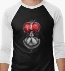 Rainbow Punk: Crimson Lolita Men's Baseball ¾ T-Shirt