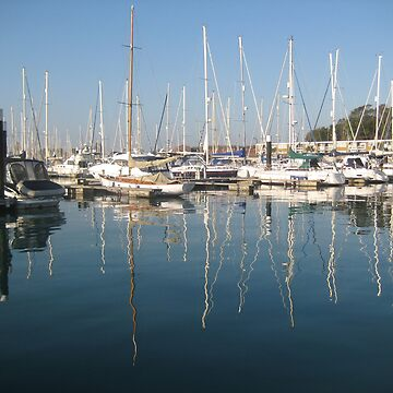 Gosport Marina - September Morning by shafryle