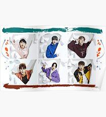 JBJ, Just Be Joyful, Kpop, Superstars Poster