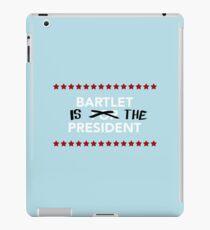 Vinilo o funda para iPad Bartlet es el presidente