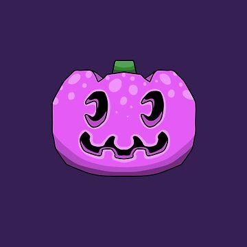 Animal Crossing Jack o Lantern - Purple by DILLIGAFM8