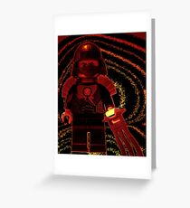 TMNT Teenage Mutant Ninja Turtles Master Shredder Custom Minifig Greeting Card
