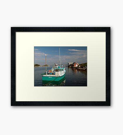 Evening In West Dover Framed Print