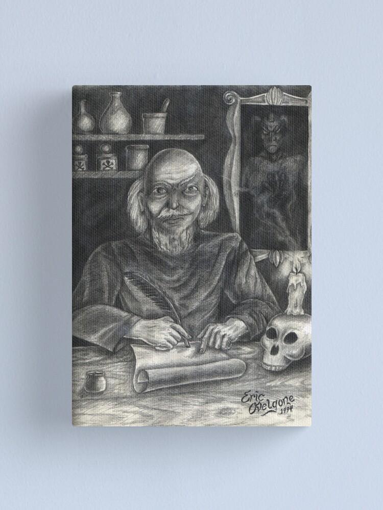 Alternate view of Nostradamus Canvas Print